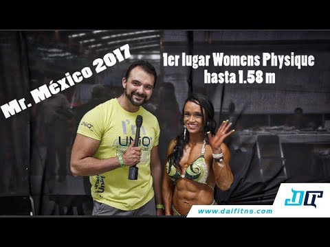 Jenny Altamirano - Ganadora Womans Physique