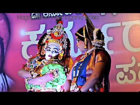 Video Yakshagana 2018-Natya Vaibhava-Radha Vilasa, Patla & Kannadikatte, Disha Shetty & Varsha Shetty (HD) download in MP3, 3GP, MP4, WEBM, AVI, FLV January 2017