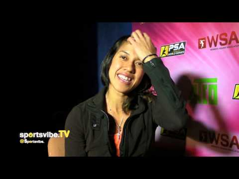 World Squash Champion Nicol David Shares Her Story