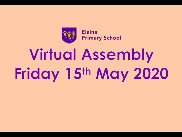 Virtual Merit Assembly 6 - 15th May 2020