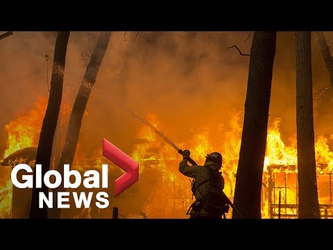 Update on Camp fire in Butte County, California