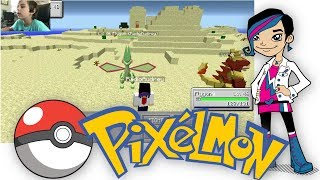 Minecraft Monday EP32 - Pixelmon Mod Game Play