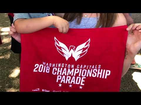 2018 Stanley Cup Parade - Washington Capitals UNCUT