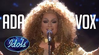 Video DRAG QUEEN ADA VOX All Auditions & Performances On American Idol 2018 MP3, 3GP, MP4, WEBM, AVI, FLV September 2018