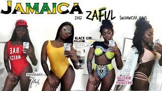 Video JAMAICA 2017! SLIM THICK SWIMWEAR TRY ON HAUL  | ZAFUL REVIEW MP3, 3GP, MP4, WEBM, AVI, FLV September 2018