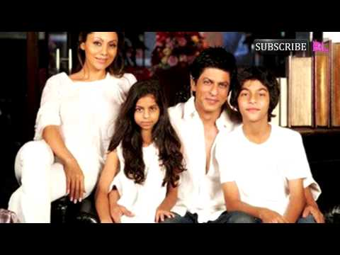 Shahrukh Khan turns a babysitter