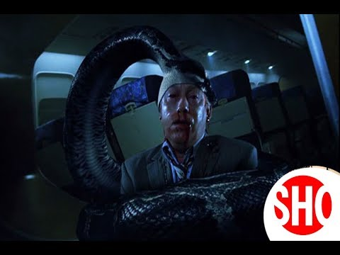 Giant Python Attack  Scene Snakes on Plane 2006 Movie CLIP MP4