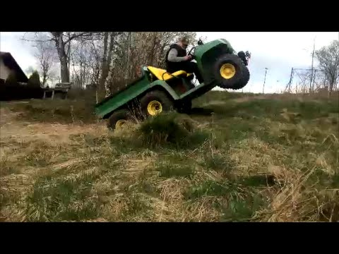 John Deere Gator 6x4 at work