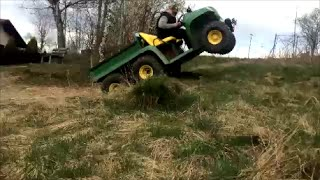 1. John Deere Gator 6x4 at work