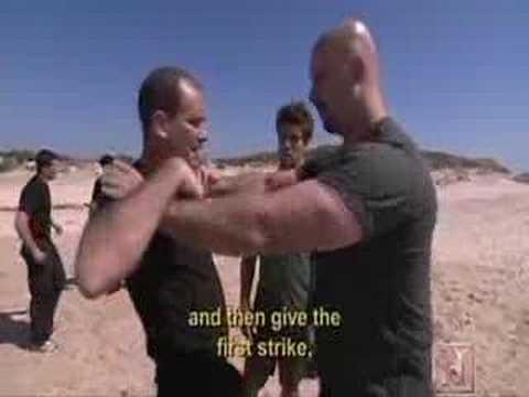 Human Weapon Krav Maga – Choke Defense