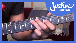 Blues Lick: Stevie Ray Vaughan Style (Guitar Lesson BL-508)