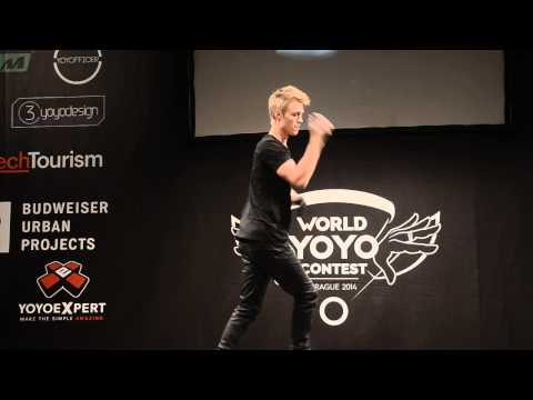 Gentry Stein World Yoyo Champion