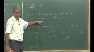 Mod-07 Lec-36 Taylor's Theorem