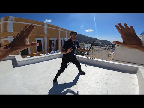 Police Parkour Escape 'santorini' 🇬🇷
