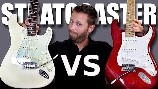 Video MEXICAN STRAT vs AMERICAN STRAT - Guitar Tone Comparison! MP3, 3GP, MP4, WEBM, AVI, FLV Juli 2018