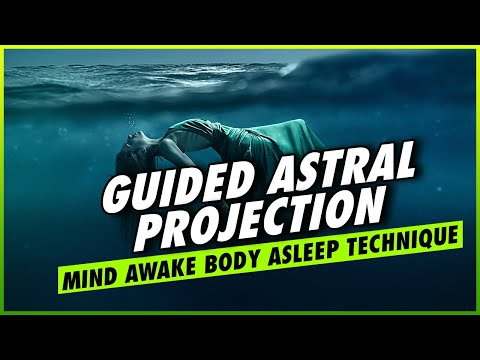Guided Astral Projection: Astral Projection Meditation Beginner & Out Of Body Experience Hypnosis