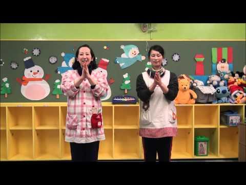 ともべ幼稚園「手遊び・歌遊びVOL.82 ゆびのたいそう」