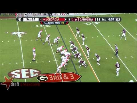 John Theus vs South Carolina 2014 video.