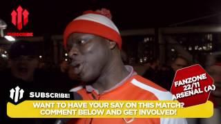 Arsenal Won The Game??? | Arsenal 1 Manchester United 2 | FANCAM