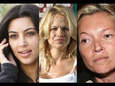 celebrities - This video is in no way intended to offend or make fun of celebrities. What i want from this video is for us ALL to try and accept how we look with and without makeup. I think we can sometimes...