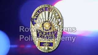 Nonton Rowlett Police Department Citizens Police Academy Film Subtitle Indonesia Streaming Movie Download