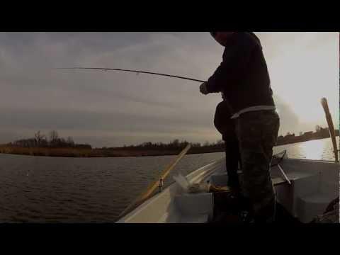 Wędkarska przygoda - listopadowe szczupaki na jeziorze Birek