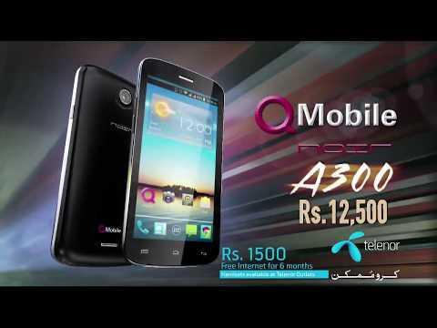 Q Mobile A300 Tvc