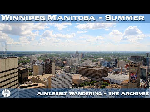 Winnipeg Manitoba Canada - by Andru Valpy
