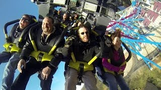 Riding Banshee at Kings Island near Cincinnati, Ohio with Meghan (on my left), Rocco from SDR (on my right) and Adam.Video provided by Kings Island.Watch in high definition.