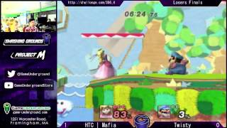 Trying to improve my commentary! Bless me with your feedback whilst enjoying a match between two top players at Smashing Grounds, Mafia (Peach) and Twisty (Wario)!