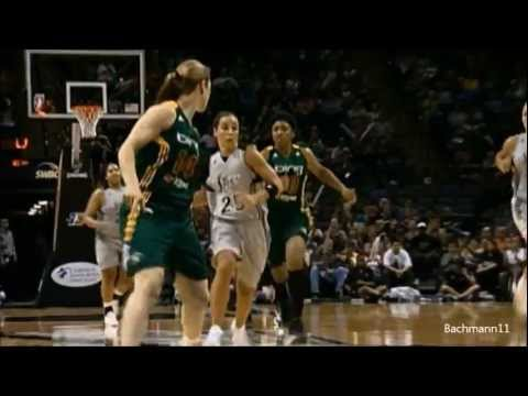Silver Star's Point Guard- Becky Hammon mix 2010-2012