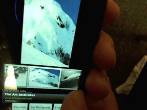 Video of Skiing Powder