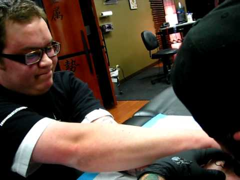Filmed at ZEN Custom Tattooing in Edmonton, Alberta, Canada.