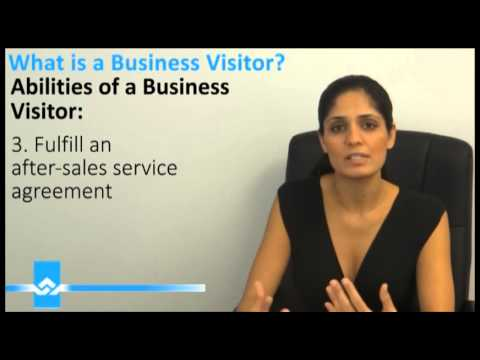 What is a Business Visitor Video