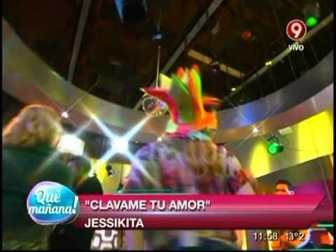 """Bailamos junto a Jessikita y su canción """"Clávame tu amor"""""""