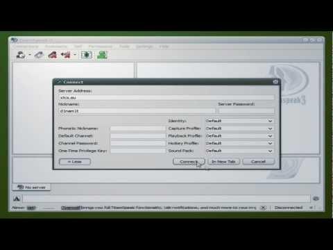 Как создать тс3 сервер