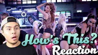 HyunA(현아) - 어때? (How's this?) MV (REACTION)