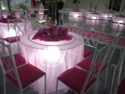Casamento pink, rosa e branco salão e buffet ana art festas