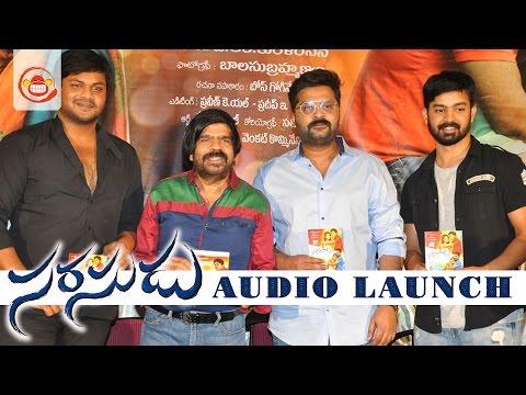 Video Sarasudu Movie Audio Launch Full Event - Simbu , Manchu Manoj || T Rajendar download in MP3, 3GP, MP4, WEBM, AVI, FLV January 2017