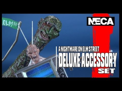 A Nightmare on Elm Street Part 3 The Dream Warriors | NECA Toys Deluxe Accessory Set Review