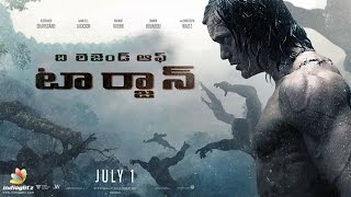 The Legend of Tarzan Telugu Trailer HD Alexandar Skarsgard, Margot Robbie