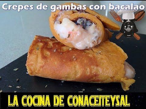 Imagen de: Crepes con sabor a Gambas …