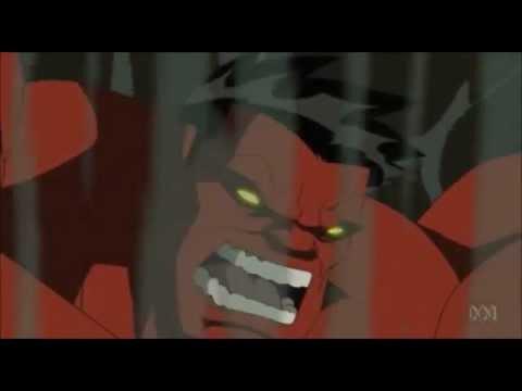 Avengers Earth's Mightiest villain: the red hulk AMV