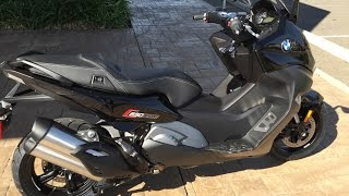 10. 2016 BMW C650 Sport Maxi Scooter * Ride & Review