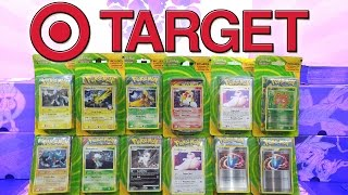 OPENING A BOOSTER BOX OF TARGET POKEMON CARDS!! by The Pokémon Evolutionaries