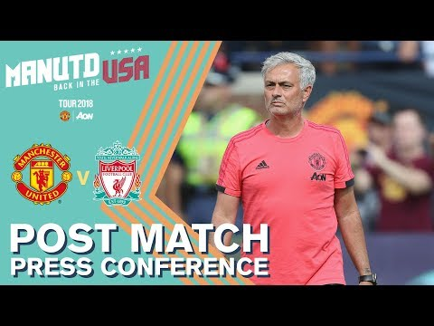 Mourinho's Press Conference | Manchester United V Liverpool | Watch Tour 2018 LIVE On MUTV!