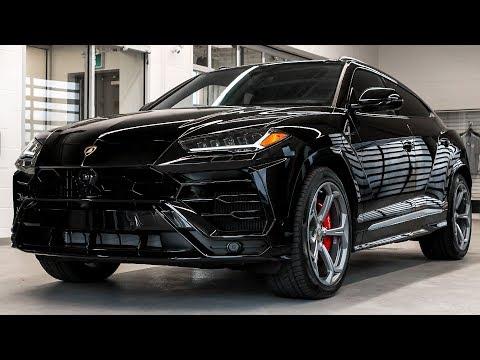 Delivery of a 2019 Lamborghini URUS in Nero Noctis!!!