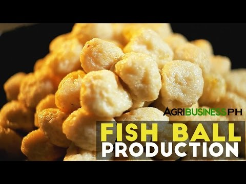 Fish Ball Production : How to Make Fish Ball | Agribusiness Philippines