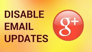 """Google Plus is a very handy social network, but, let's admit it, getting emails just about every Google Plus update can be pretty annoying. What to do? It's all in your settings.Don't forget to check out our site http://howtech.tv/ for more free how-to videos!http://youtube.com/ithowtovids - our feedhttp://www.facebook.com/howtechtv - join us on facebookhttps://plus.google.com/103440382717658277879 - our group in Google+Step 1.  Log in to your Google Plus account.Step 2. Click on the account picture in the upper right corner of your account page.Step 3. From the appearing little pop-up window, choose """"Account"""".Step 4.  Now choose """"Edit settings"""" from the left part of the page. You have just accessed a very important center of all your Google Plus life. Step 5.  First of all, scroll down to """"Manage subscriptions"""". By default, your occasional updates are on, which means that you are getting all those Google Plus activity updates right to your mailbox and all those people updates as well. Un-tick the boxes. Good.Step 6.  Now scroll more down to """"Receive notifications"""" center - the center of all evil spam:). Ok, kidding. If you click on """"Posts"""", """"Circles"""" or """"Events"""", you'll discover additional reasons of why all those notifications are coming straight to your email. For instance, we click on """"Posts"""" and see that all the actions connected to posting on Google Plus are reported straight to our email. Not good. We update notifications preferences and un-tick the boxes.Step 7.  Do the same with various types of notifications in this section and you'll discover that your life became much easier. Great. Step 8.  For your reference, on the same page you can update your Google Plus privacy settings, control what you share with others and even disable your Google Plus account.  We'll talk about privacy issues in our other tutorials. Result: Here you go. If we've made your online life better, that's what we were aiming for!"""