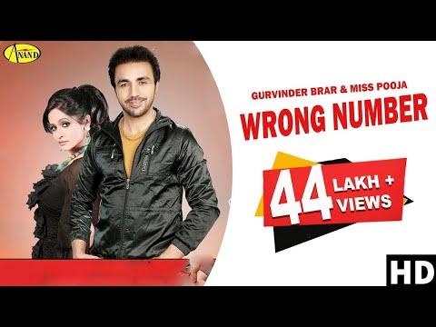 Video Gurvinder Brar ll Miss Pooja || Wrong Number || New Punjabi Song 2017 || Anand Music download in MP3, 3GP, MP4, WEBM, AVI, FLV January 2017